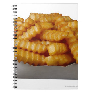 Crinkle-cut french fries notebook