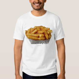 Crinkle-cut french fries shirt
