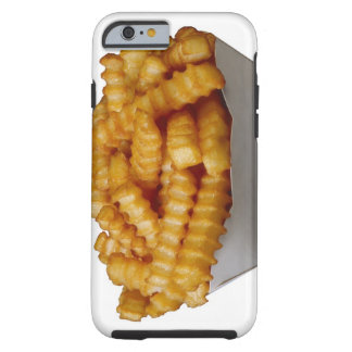 Crinkle-cut french fries tough iPhone 6 case