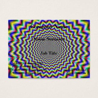 Crinkle Cut Psychedelia Business Card