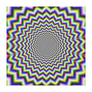 Crinkle Cut Psychedelia Canvas Print