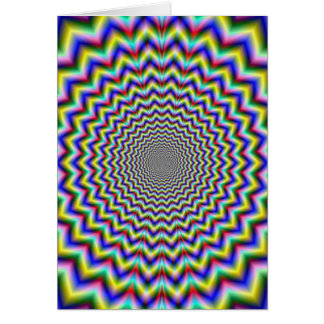 Crinkle Cut Psychedelia Card