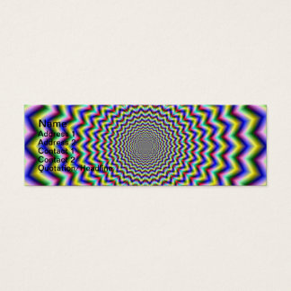 Crinkle Cut Psychedelia Mini Business Card