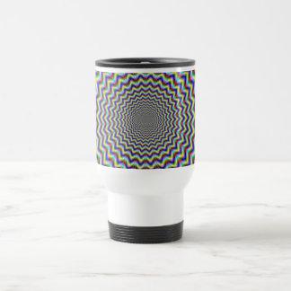 Crinkle Cut Psychedelia Travel Mug