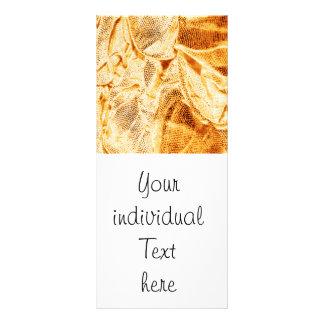 crinkle fabrics,golden glimmer customized rack card