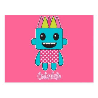 Crinkle Monster Postcard