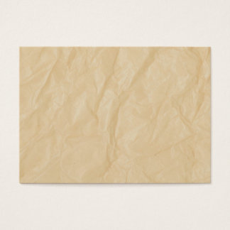 Crinkle Paper Background Business Card