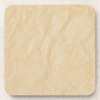 Crinkle Paper Background Coaster