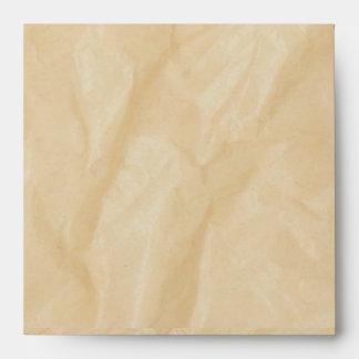 Crinkle Paper Background Envelope