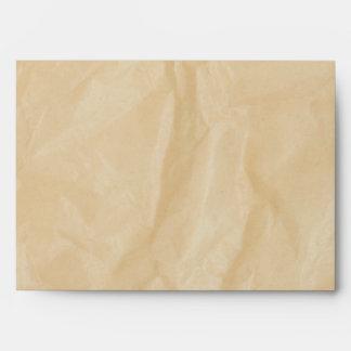 Crinkle Paper w/Burns Background Envelope