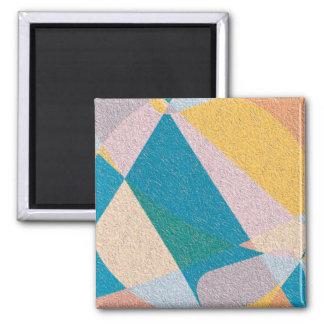 Crinkled 2 Inch Square Magnet