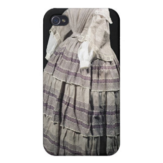 Crinoline dress, 1850-60 covers for iPhone 4