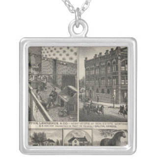 Crippen, Lawrenceand County, Salina Trehill Farm Silver Plated Necklace