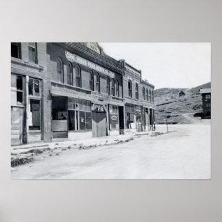 Cripple Creek Colorado Bennett Ave 1950 Poster