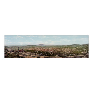 Cripple Creek Colorado Panoramic View Poster