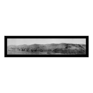 Cripple Creek Colorado Photo 1895 Poster