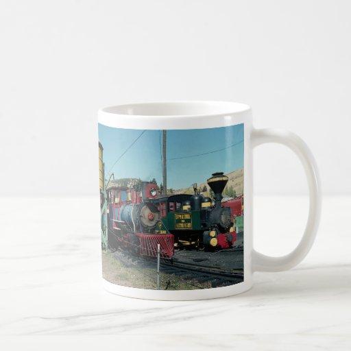 Cripple Creek, Victor Railway, Colorado, U.S.A. Coffee Mugs