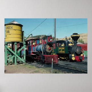 Cripple Creek, Victor Railway, Colorado, U.S.A. Poster