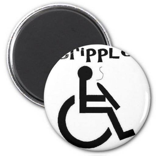 crippled 2 inch round magnet