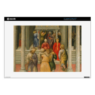 Crippled and Sick Cured at Tomb of St. Nicholas Decal For Laptop