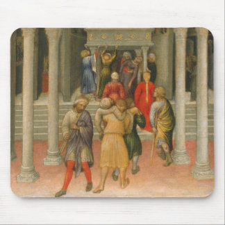 Crippled and Sick Cured at Tomb of St. Nicholas Mouse Pad