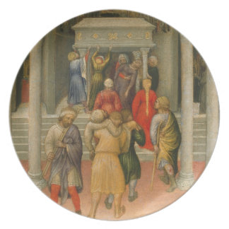 Crippled and Sick Cured at Tomb of St Nicholas Plates
