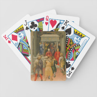 Crippled and Sick Cured at Tomb of St. Nicholas Poker Cards