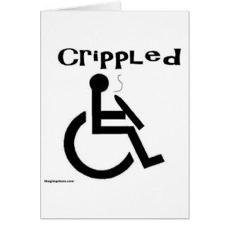 crippled card