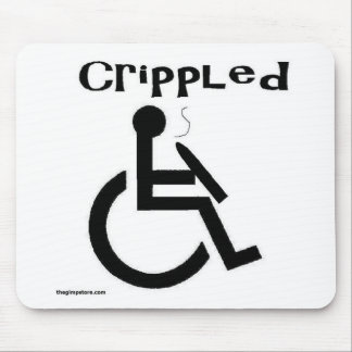 crippled mouse pad