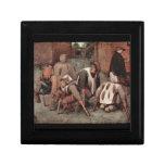 Cripples by Pieter Bruegel Keepsake Box