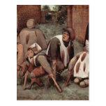 Cripples by Pieter Bruegel Post Cards