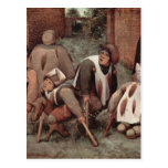 Cripples by Pieter Bruegel Postcards