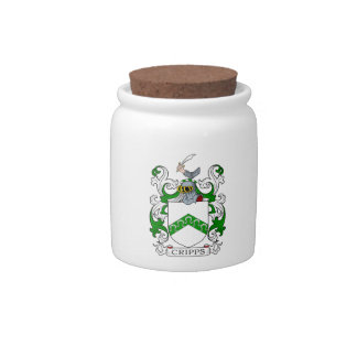 Cripps Coat of Arms II Candy Dish