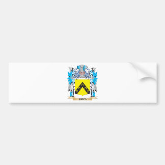 Crips Coat of Arms - Family Crest Car Bumper Sticker
