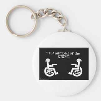 crips_large basic round button keychain