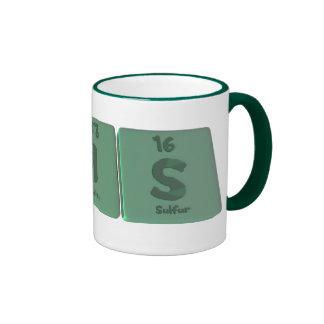 Cris as Chromium Iodine Sulfur Mugs