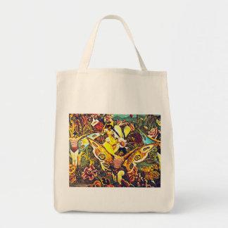 Crisálida y mariposa - bolso bolsa de mano