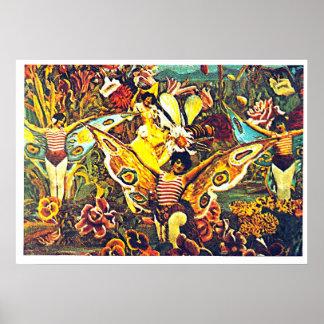 Crisálida y mariposa - poster