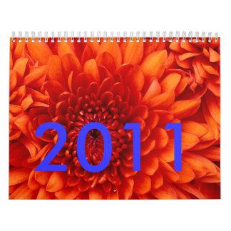 Crisantemo, 2011 calendarios