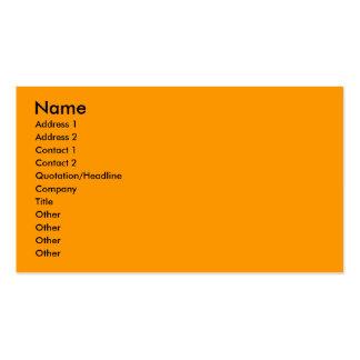 Crisantemo amarillo tarjetas de visita