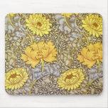 crisantemo de William Morris Tapete De Raton