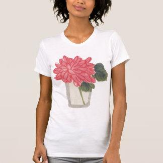 Crisantemo del asiático del vintage camiseta