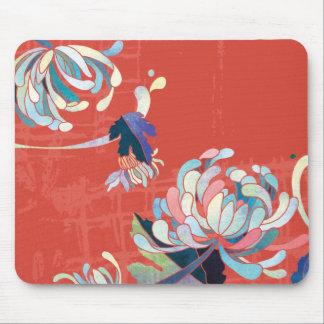 Crisantemo Mousepad Tapete De Raton