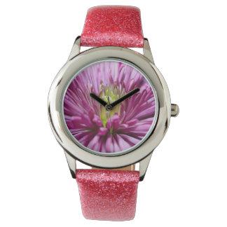 crisantemo relojes de pulsera