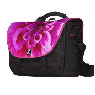 Crisantemo rosado bolsas para portatil