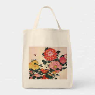 Crisantemo y tábano, Katsushika Hokusai Bolsa Lienzo