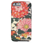Crisantemo y tábano, Katsushika Hokusai Funda Para iPhone 6 Tough