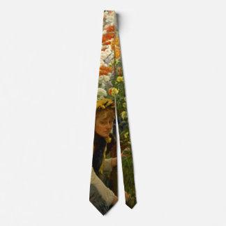 Crisantemos 1875 corbata personalizada