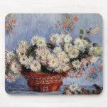 Crisantemos - Claude Monet Alfombrilla De Ratones