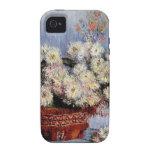 Crisantemos - Claude Monet iPhone 4/4S Funda